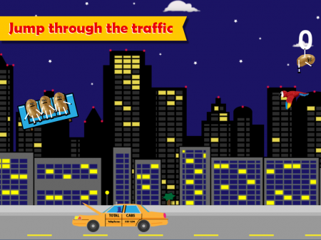 Ouch Potato – Crazy Couch Taxi - ipad2
